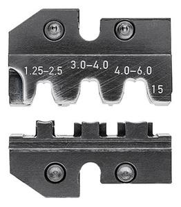 KNIPEX čeljusti za 97 43 200 za stopice neizolirane otvorene 1,25-6mm2