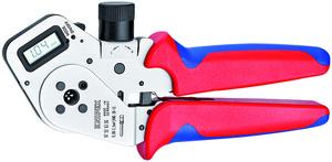 KNIPEX kliješta za kvadratno presanje iglica 0,08-2,5mm2 digit.prikaz