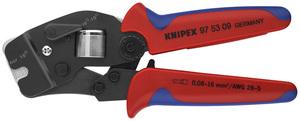 KNIPEX kliješta za kvadratno presanje čahura 0,08-10mm2 + 16mm2