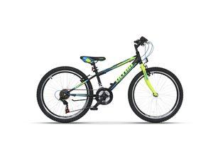 """ULTRA dječji bicikl Storm 24"""" crna"""