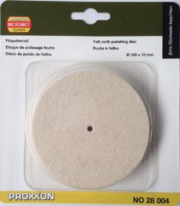 PROXXON pribor za polirku PM 100-filc - polirni disk (100 x 15mm) NO 28004
