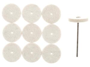 PROXXON diskovi za fino poliranje  zlata, nehrđajućeg  čelika i porculana NO 28798