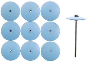PROXXON silicijski diskovi za fino poliranje  zlata, nehrđajućeg  čelika i porculana NO 28293