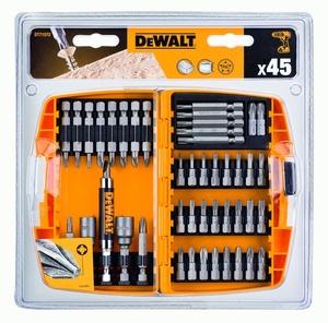 DEWALT 45-djelna garnitura nasadnih ključeva s adapterima - DT71572
