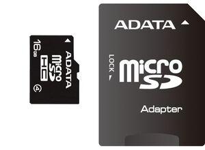Memorijska kartica Adata microSD 16GB HC Class4 + 1ad