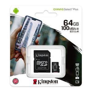 Memorijska kartica  Kingston microSD 64GB Class 10 UHS-I Plus