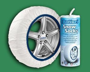 Čarape za snijeg WHITE - M (medium) 2 kom