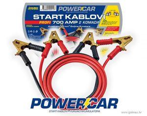 PROFI Start kablovi  50 mm2  700 AMP Powercar