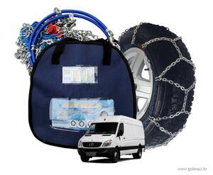 Lanci za snijeg  GRUPA 250 za kombi, đipove i laka teretna vozila