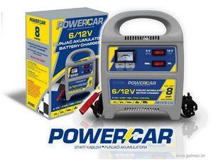 Punjač akumulatora , 6/12V - 8 AMP,  POWERCAR