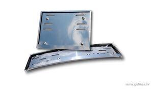 INOX KROM zakrivljeni + pravokutni nosači tablica