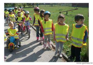 Reflektirajući Prsluk za Djecu 5-10 godina  EN 150