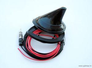 Shark antena sa pojačalom 12V  (kabel 150 cm)