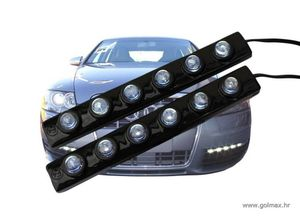 LED SMD Daytime lights  2 x 6 LED-a  (13 cm) (2 trake)