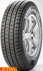 Pirelli 225/75R16C CARRIER Winter 118R,Pot: C,Pri: C,Buka: 73 dB