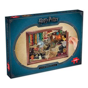 Harry Potter puzzle Hogwarts 1000 komada