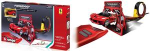 Bburago Ferrari go gears set okretište i vozilo