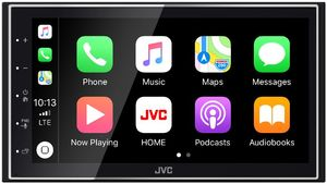 JVC KW-M741BT auto radio
