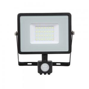 V-TAC 30W LED SMD reflektor sa senzorom Samsung čip 6000K - 5 GODINA GARANCIJE