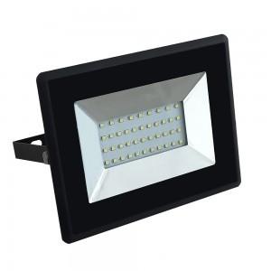 V-TAC 30W LED reflektor SMD E-Serija crna boja 6500 K