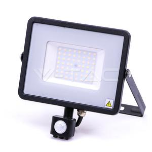 V-TAC 50W LED SMD reflektor sa senzorom Samsung čip 6000K - 5 GODINA GARANCIJE