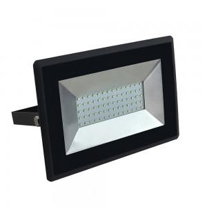 V-TAC 50W LED reflektor SMD E-serija crna boja 6500K
