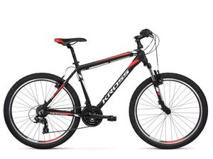 KROSS bicikl MTB HEXAGON 1.0 26, M, crno/crveni