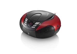 LENCO SCD-37 radio Red