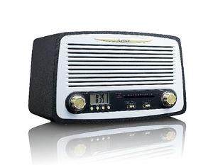 LENCO SR-02GY retro radio