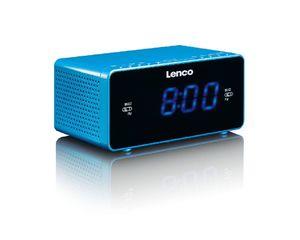LENCO CR-520 radio budilica blue
