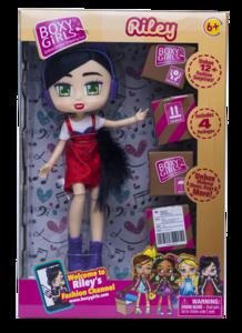 Lutka Boxy Girls Riley