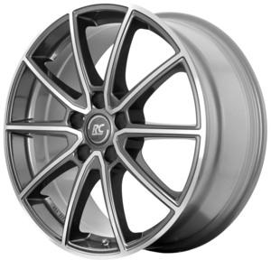 Aluminijski naplatak RC Design RC32 6,5x16 5/114,3 ET45 M5 HGVP (Himalaya Grey Voll Poliert)  - EAN kod 4250996325519