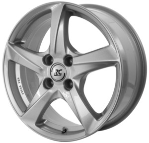 Aluminijski naplatak RC Design RC30 6x16 5/100 ET35 V6 Srebrna/Kristallsilber - EAN kod 4250996332609