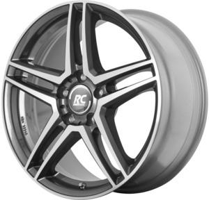 Aluminijski naplatak RC Design RC D17 6,5x16 5/112 ET38 D4 Himalaya Grey Voll Poliert - EAN kod 4250996324505
