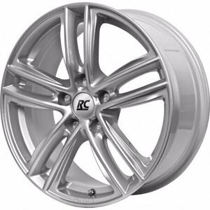 Aluminijski naplatak RC Design RC27 6,5x16 5/112 ET44 V7 Srebrna/Kristallsilber - EAN kod 4250145477496