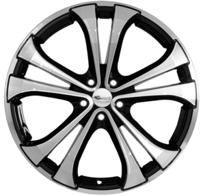 Aluminijski naplatak RC Design RC17 7,5x17 5/112 ET35 D3 Crna Polirana/Schwarz glanz vollpoliert - EAN kod 4250145484289