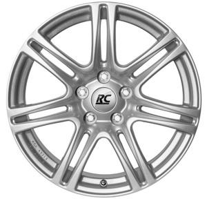 Aluminijski naplatak RC Design RC28 7x16 4/100 ET38 X2 Srebrna/Kristallsilber - EAN kod 4250996301582