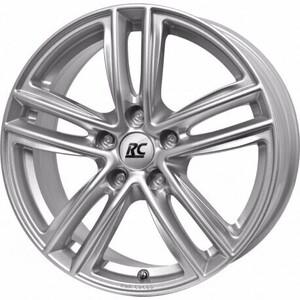 Aluminijski naplatak RC Design RC27 6x15 5/112 ET47 V7 Srebrna/Kristallsilber - EAN kod 4250145477380