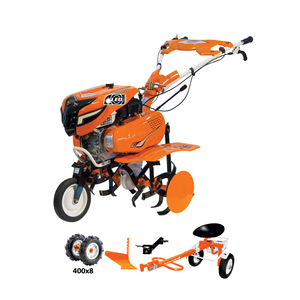 RURIS motorna kopačica 7500ACC2 - 7 KS (Gumeni kotači,noževi-freza,plug,adapter,sjedalica za kopačicu Navigator 88)