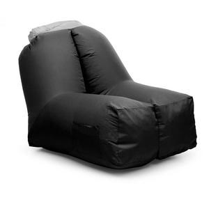 BLUMFELDT Airchair, fotelja na napuhavanje - ruksak crna (80x80x100cm)