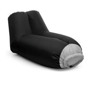 BLUMFELDT Airlounge, sjedalo na napuhavanje - ruksak crna (90x80x150cm)
