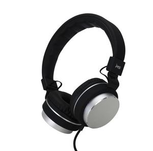 MS STYLE srebrne slušalice s mikrofonom
