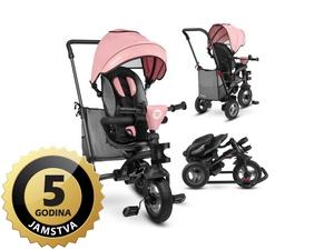 Lionelo tricikl Tris 2 u 1 ružičasti