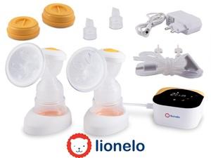 Lionelo dvostruka električna izdajalica i masažer TWEE, ugrađena baterija
