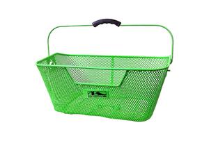 M-WAVE košara stražnja zelena