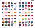 SLAGALICA - Zastave L2-HR