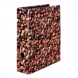 Registrator samostojeći A4, 8 cm, kava, Herlitz