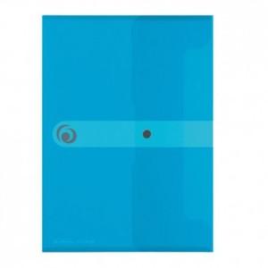 Kuverta s dugmetom, A5, polipropilen, svijetloplava, Herlitz Easy orga to go