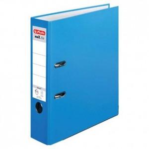 Registrator samostojeći A4, 8 cm, maX.file protect, Herlitz, svijetlo plavi
