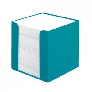 Stolna kocka s papirom Color Blocking,, PVC 9x 9 x 9 cm, tirkizna, 700 listova, Herlitz